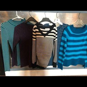 Sweaters - Lot of 5 tops! Size medium, majority sweaters.